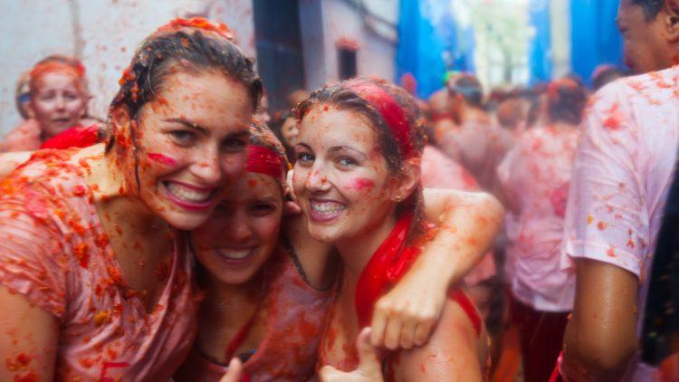 פסטיבל העגבניות בוולנסיה ספרד